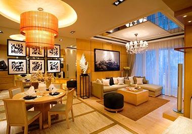 湘潭金水湾125平三房两厅北欧风格装修效果图