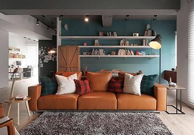 湘潭中央一品140㎡四室两厅现代风格装修效果图