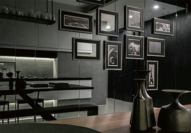 湘潭百合御都126.52㎡三室两厅现代风格装修效果图